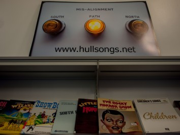 Library Exhibition HullSongs